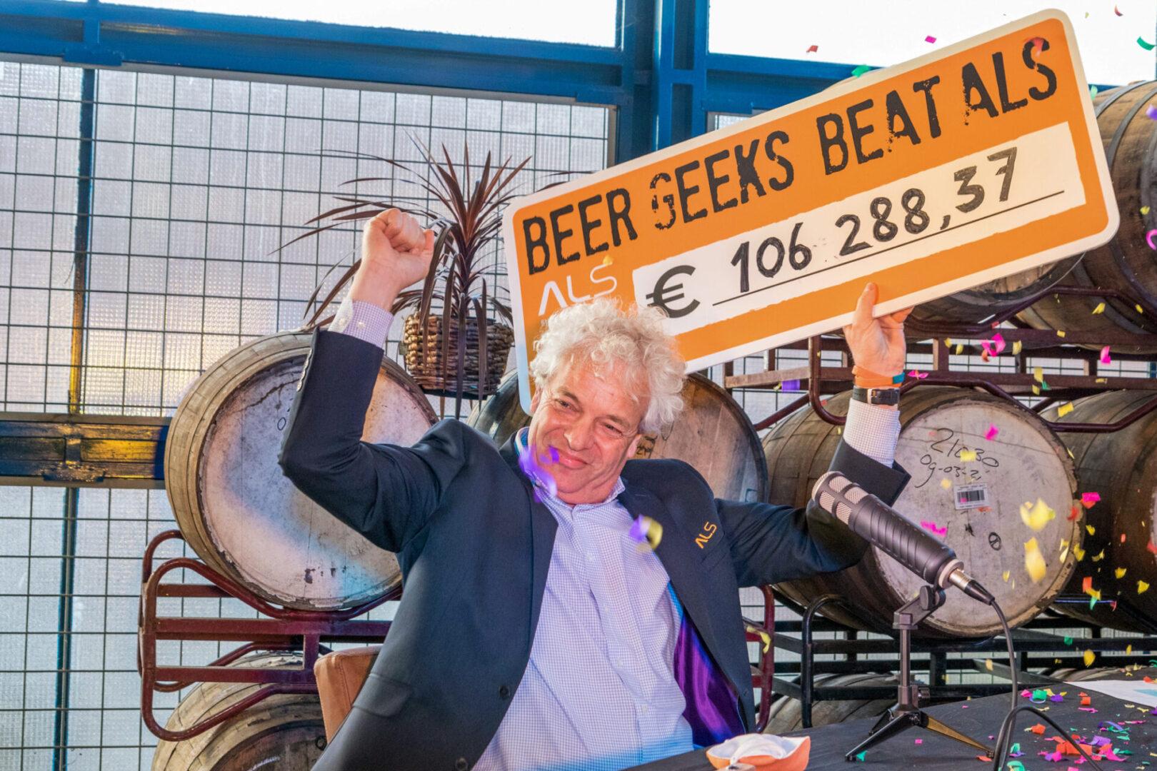 Beer Geeks halen ruim 106.000 euro op voor ALS